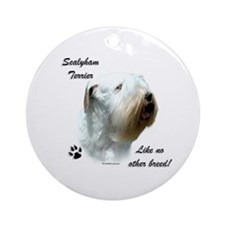 Sealy Breed Ornament (Round)