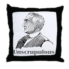 Warren Harding Throw Pillow