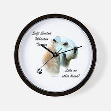 Wheaten Breed Wall Clock