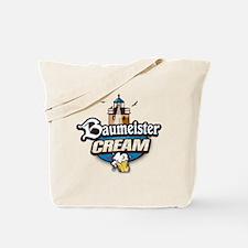 cream logo Tote Bag