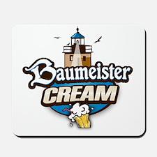 cream logo Mousepad