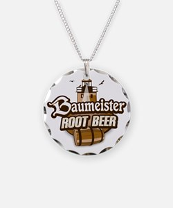 Root Beer logo Necklace