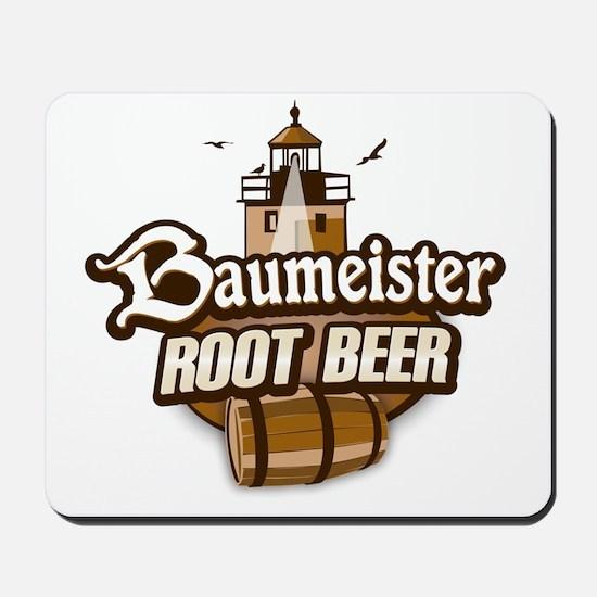 Root Beer logo Mousepad