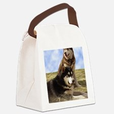 MalamuteGreeting1 Canvas Lunch Bag