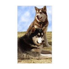 MalamuteGreeting1 Decal