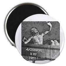 2-10x10 Archimedes sit happens art show 201 Magnet