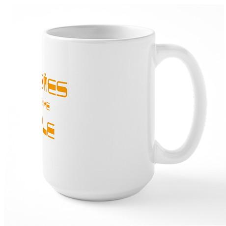 boobies Large Mug