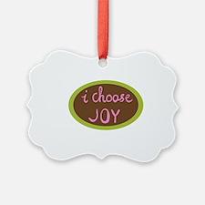 I Choose Joy - Women Ornament