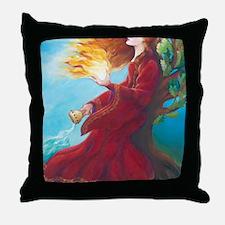 Brigids Fire Throw Pillow