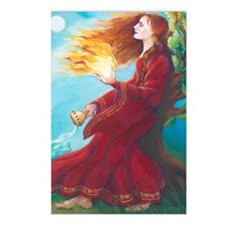 Brigids Fire Postcards (Package of 8)