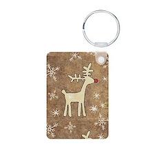 Cute Christmas Reindeer Keychains