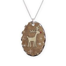 Cute Christmas Reindeer Necklace