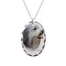 Bearded Collie 2 Necklace