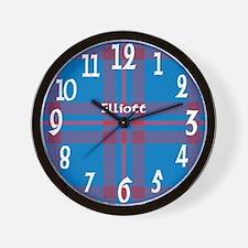 Elliott Clan Wall Clock
