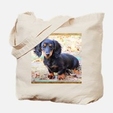 Puppy Love Doxie Tote Bag