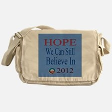 Hope To Believe In 2012 bl Messenger Bag