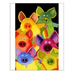 Fun Pigs Small Poster