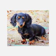 Puppy Love Doxie Throw Blanket