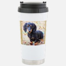 Puppy Love Doxie Stainless Steel Travel Mug