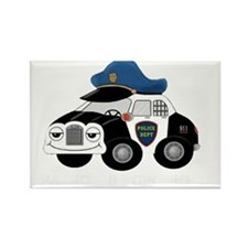 copcar DARK PATROL copy copy Rectangle Magnet