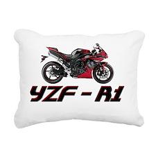 Yamaha-YZF-R1 Rectangular Canvas Pillow