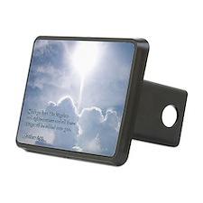 Matthew 6-33 Shining Cloud Hitch Cover