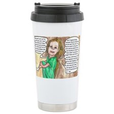 What did you do today cr Travel Mug