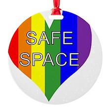 safe space left Ornament