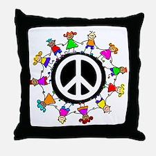 kidspeace Throw Pillow