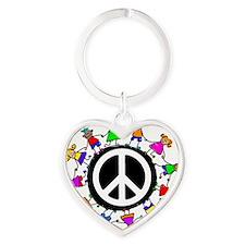 kidspeace Heart Keychain