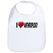 I Heart (Love) Anthropology Bib