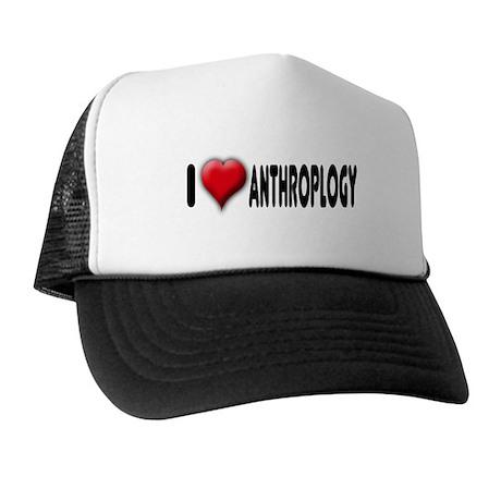 I Heart (Love) Anthropology Trucker Hat
