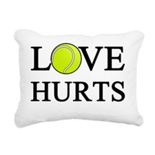 Love Hurts (light) Rectangular Canvas Pillow