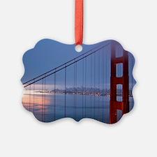 Golden Gate Bridge at Dawn Ornament