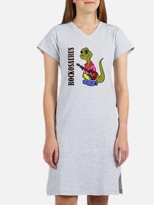 rockosaurus Women's Nightshirt
