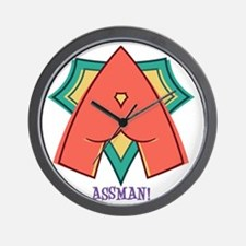assman-T Wall Clock