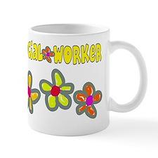 Social worker 2011 Big Flowers Mug