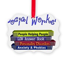 Social Worker Ornament