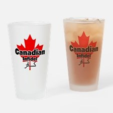 canadianinfidel Drinking Glass