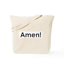 Cute Catholic humor Tote Bag