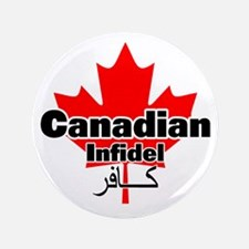 "canadianinfidel 3.5"" Button"