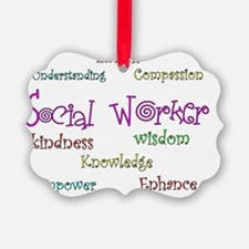 Social Worker  CURLY 2011 Ornament