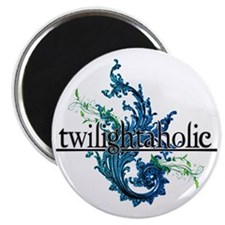 Eclipse Movie  Twilightaholic Floral Mixed Magnet