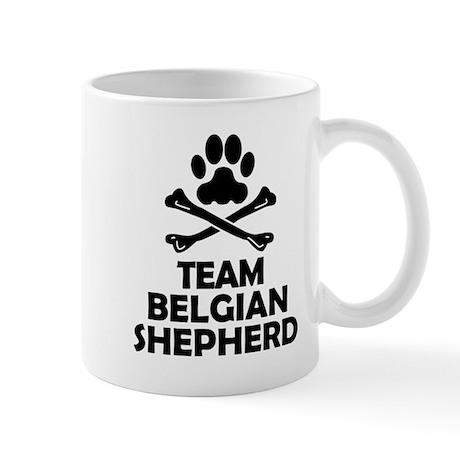 Team Belgian Shepherd Mugs