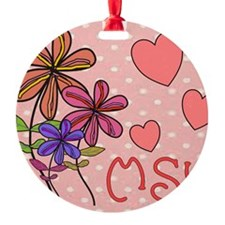 MSW Flowers Ornament