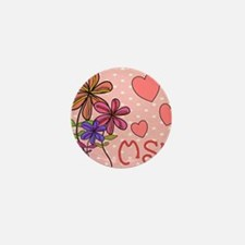 MSW Flowers Mini Button