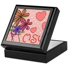 MSW Flowers Keepsake Box