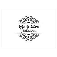 Personalized Mr and Mrs Invitations