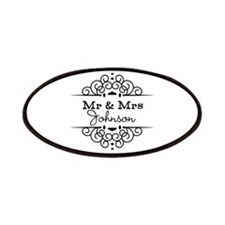 Personalized Mr and Mrs Patches