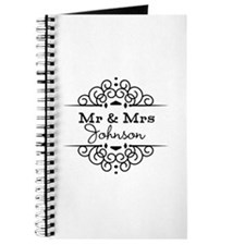 Personalized Mr and Mrs Journal